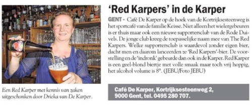 'Red Karpers' in de Karper