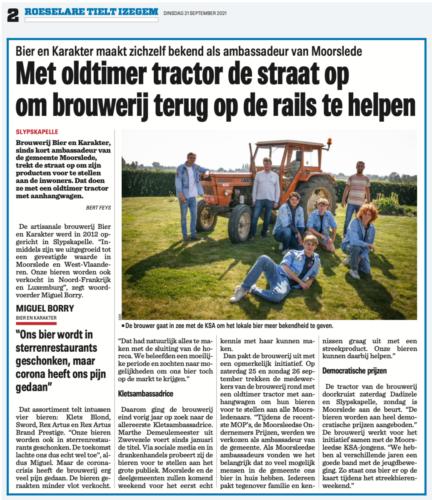 Klets oldtimer rondrit - Nieuwsblad